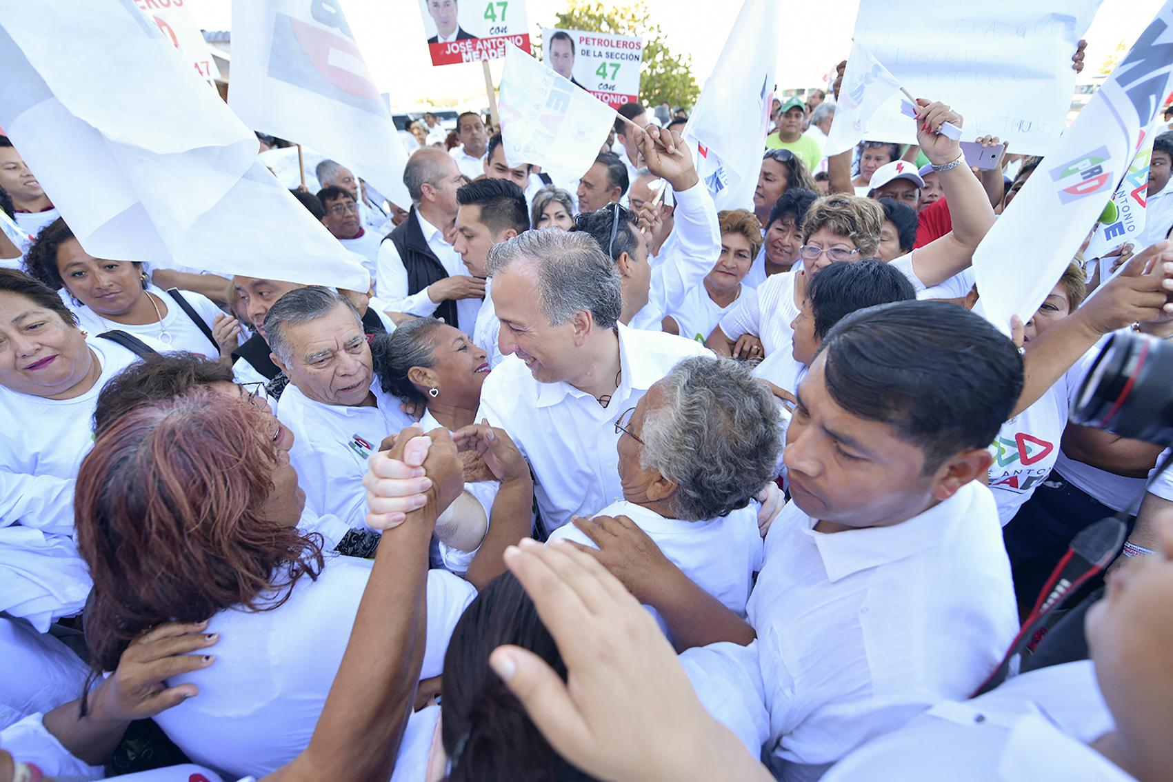Photo of José Antonio Meade recibe calurosa bienvenida en Campeche