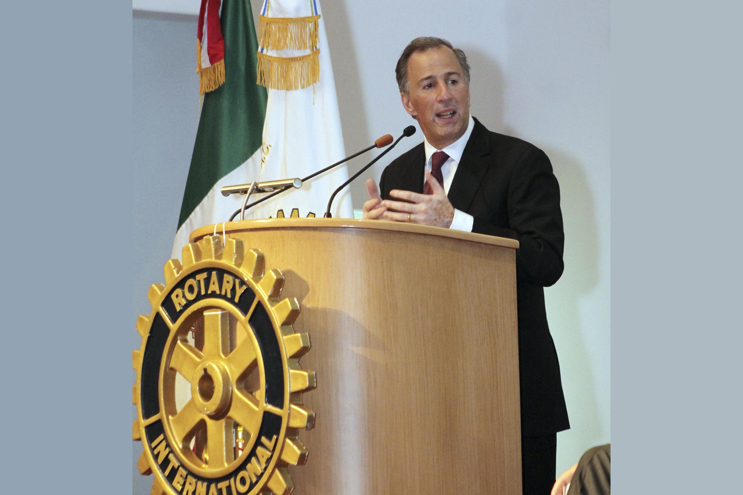 Photo of Diálogo de los Rotarios del país con José Antonio Meade Kuribreña