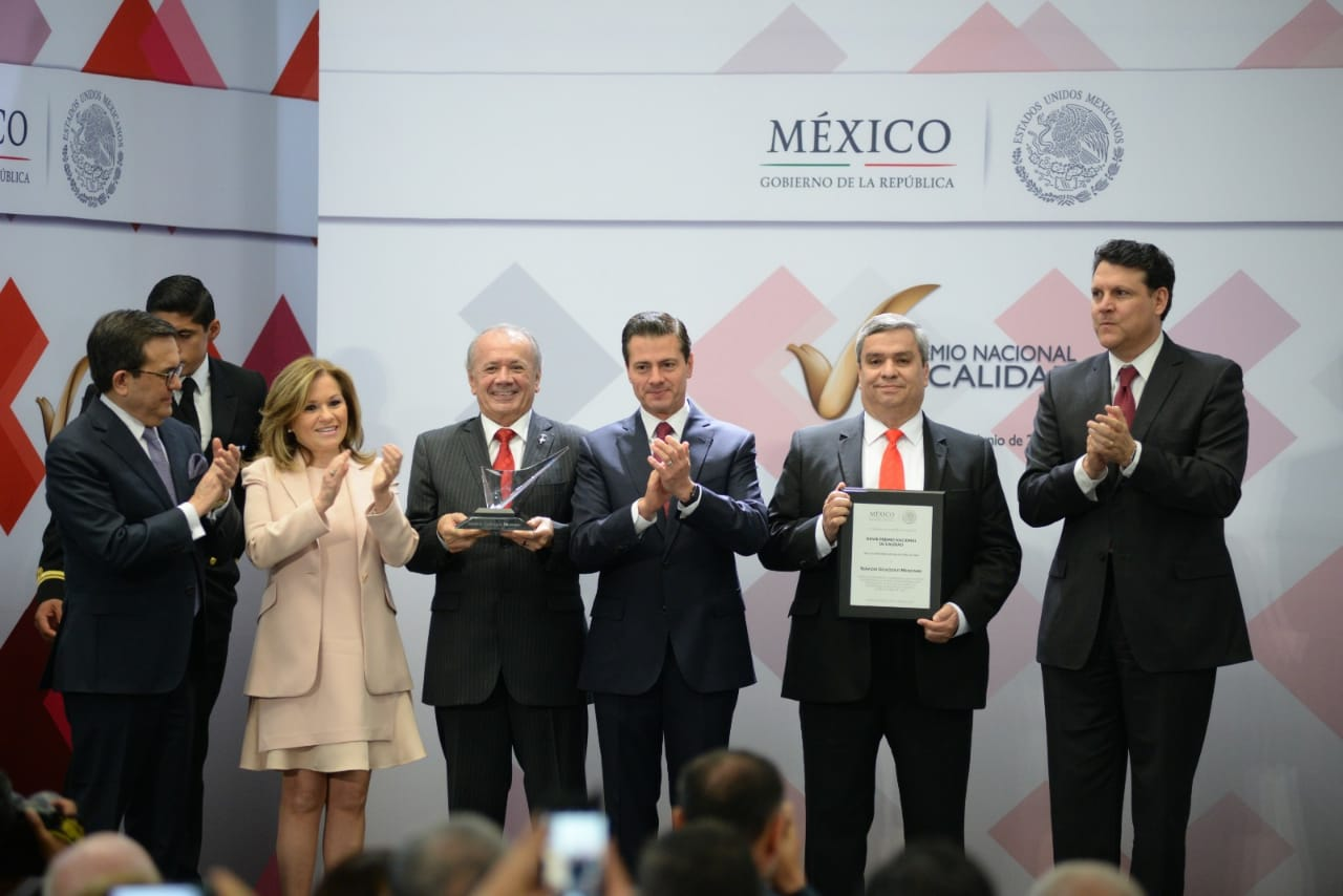 Photo of Recibe el Servicio Geológico Mexicano, el Premio Nacional de Calidad 2017