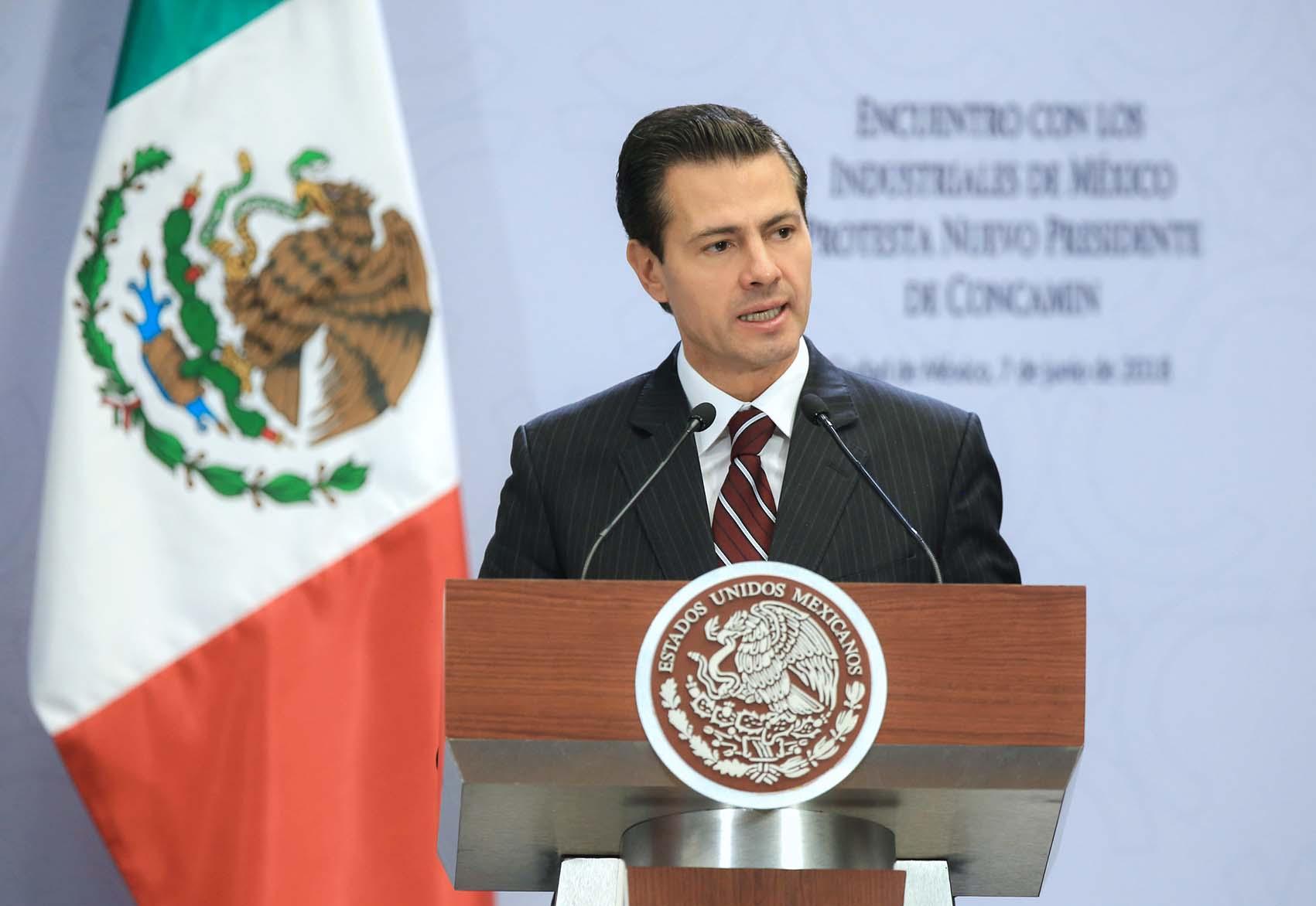Photo of Reafirma Presidente Enrique Peña Nieto libre expresión y respeto de la voluntad ciudadana