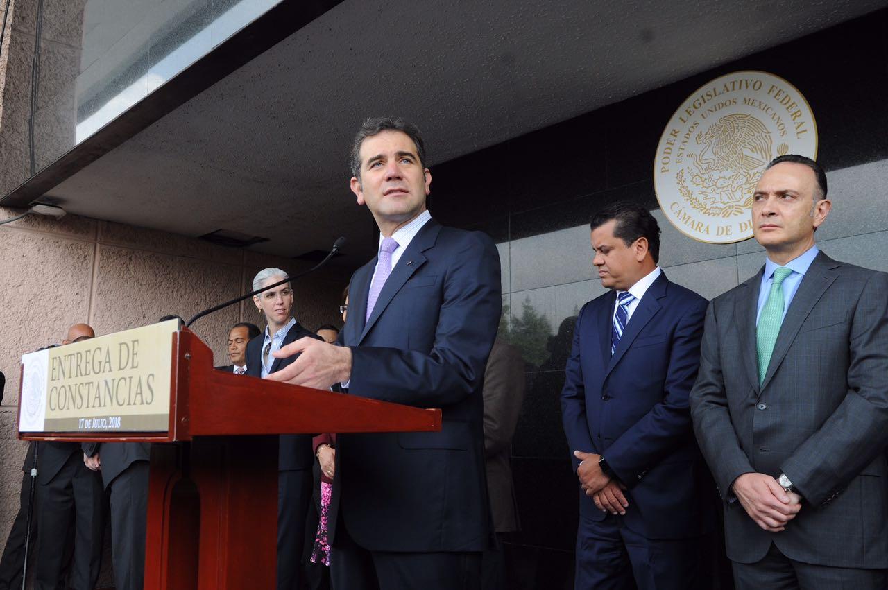 Photo of Recibe Cámara de Diputados primera documentación para constituir la LXIV Legislatura