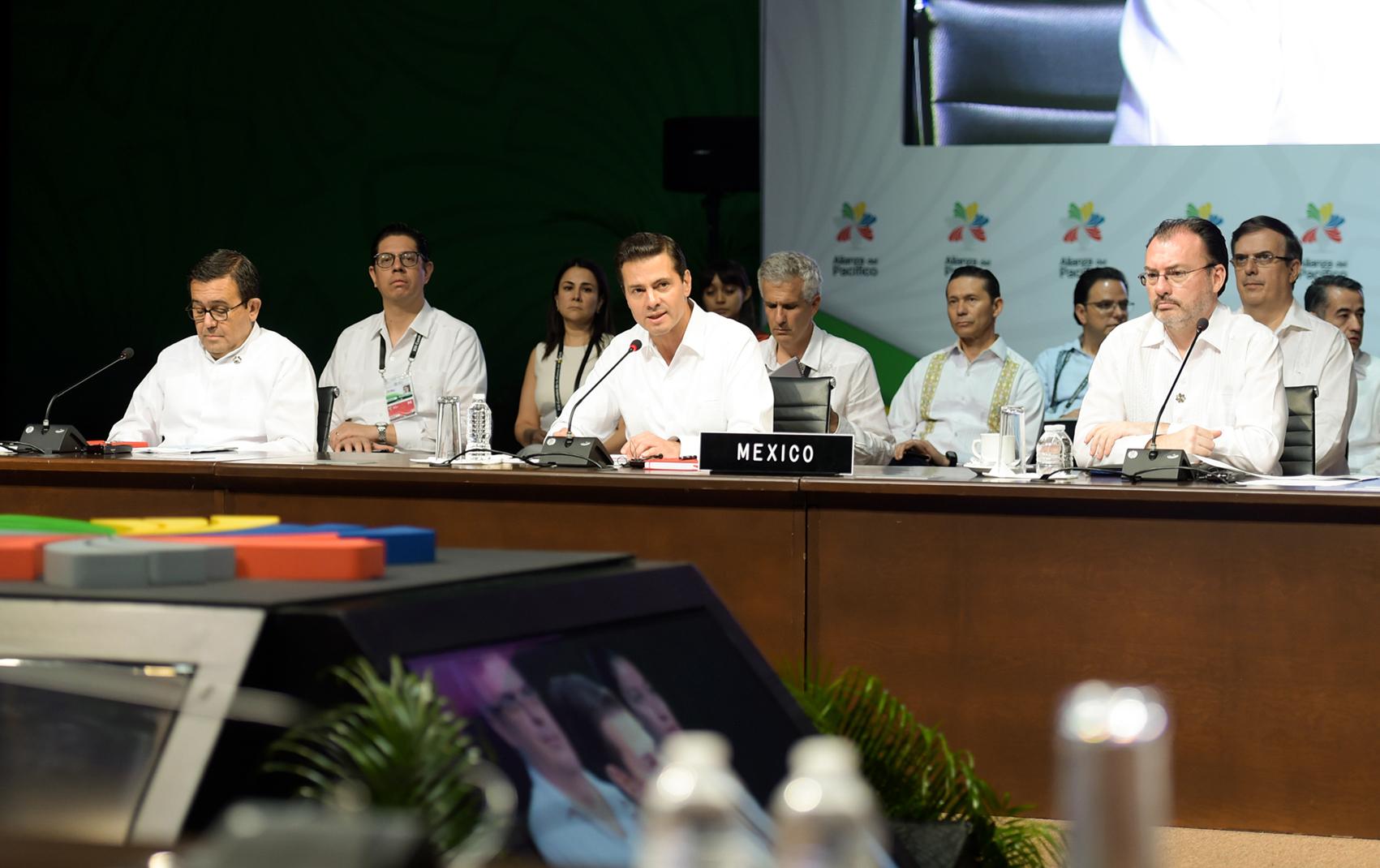 Photo of Convoca el Presidente Enrique Peña Nieto a mayor prosperidad, desarrollo y bienestar de América Latina