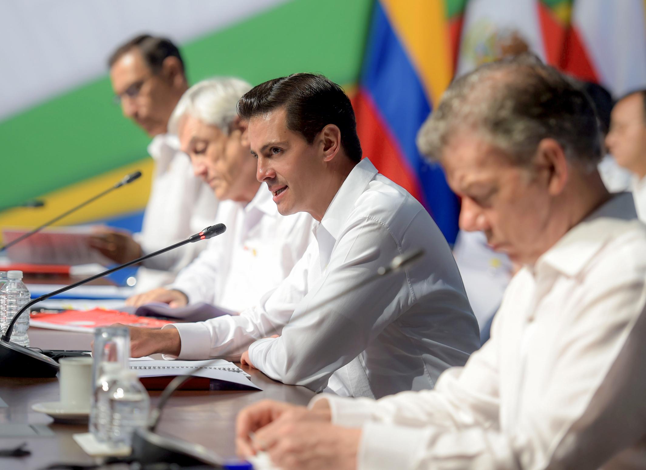 Photo of Integración  económica profunda propone Enrique Peña Nieto para América Latina