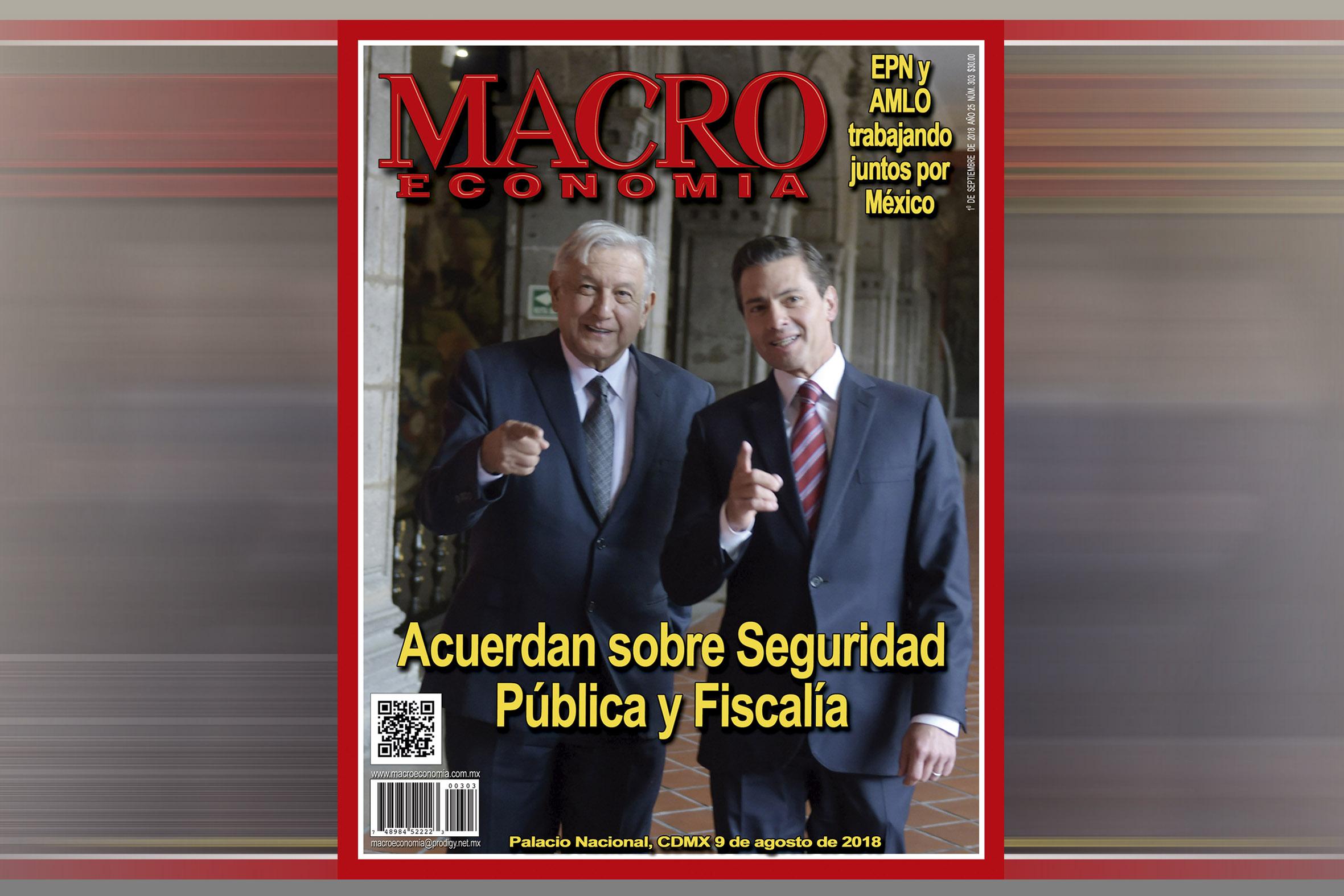 Photo of EPN y AMLO Trabajan juntos por México