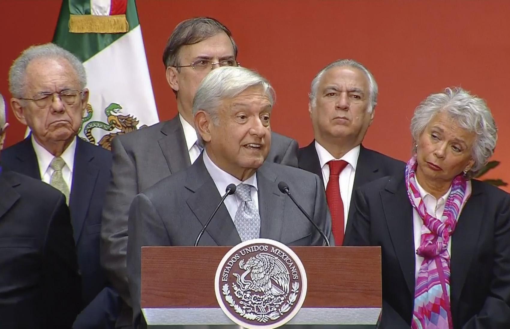 """Photo of """"Agradezco el apoyo respetuoso del Presidente Enrique Peña Nieto, en esta transición de Gobierno"""": Presidente Electo, Andrés Manuel López Obrador"""