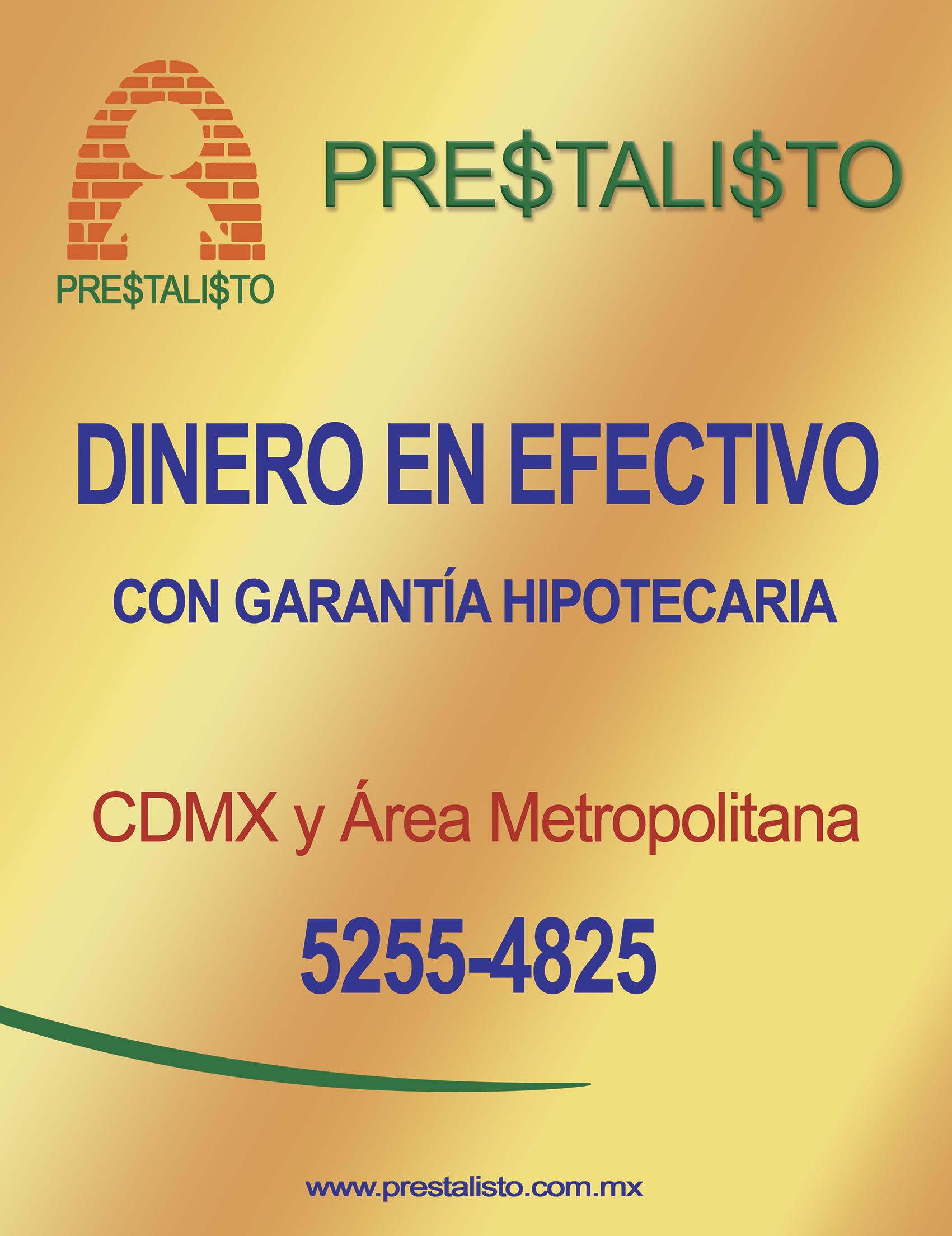 Photo of Prestalisto: Dinero en efectivo con garantía hipotecaria