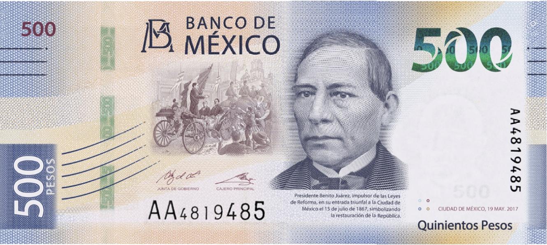 Photo of Nueva familia de billetes y puesta en circulación de la primera denominación: 500 pesos