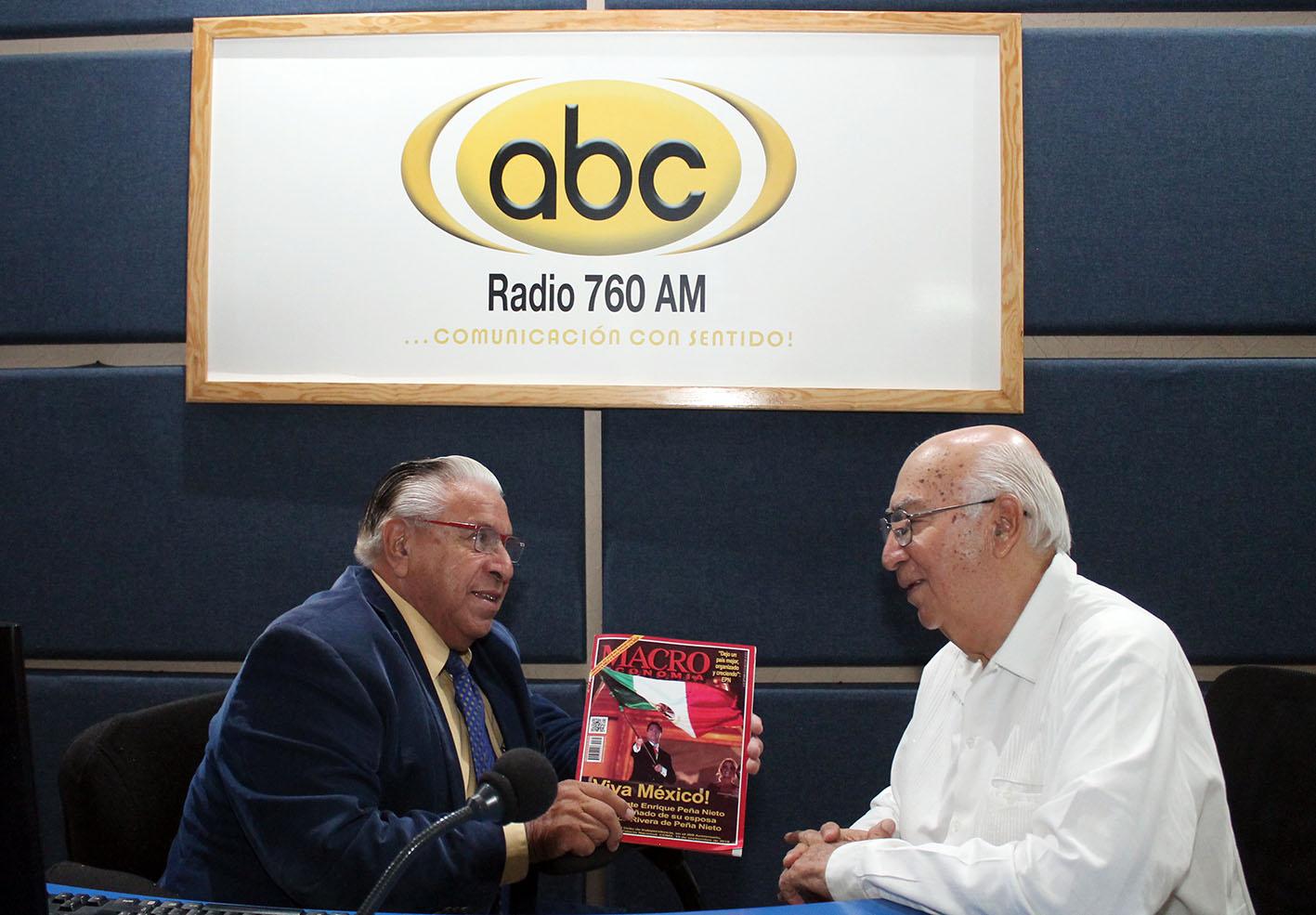 """Photo of Entrevista del Lic. Mauro Jiménez Lazcano en Radio ABC, con Juan Manuel Rentería, programa """"Personajes al Desnudo"""", del día 23 de septiembre de 2018"""