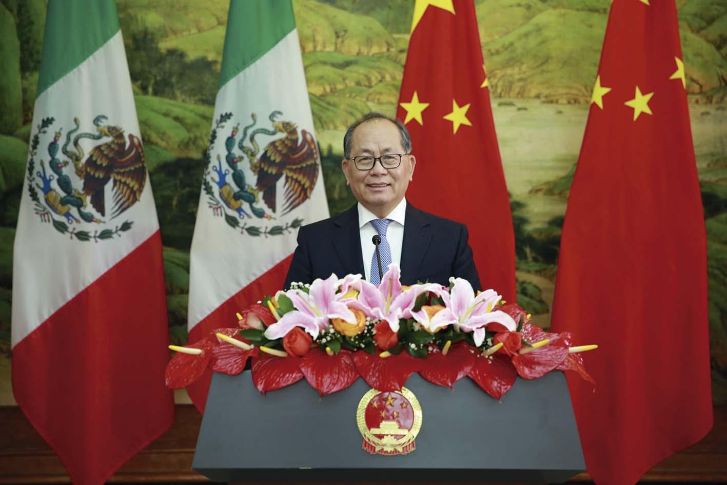 "Photo of ""China no será nunca Potencia Hegemónica "": Embajador Qiu Xiaoqi"