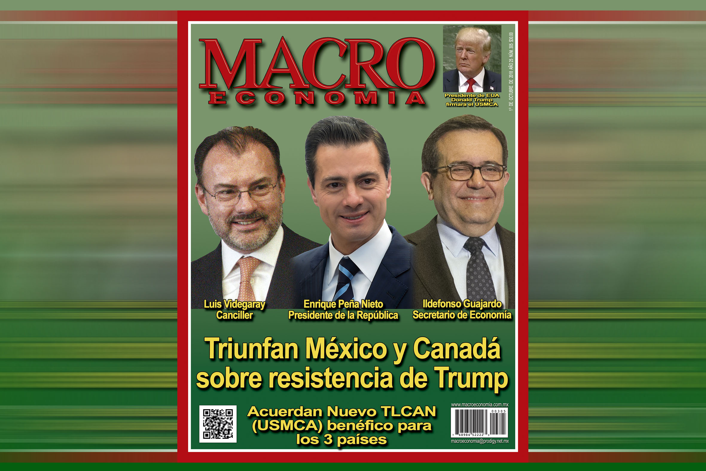 Photo of Acuerdo Comercial USMCA de ganar-ganar asegura el crecimiento económico de México y estabiliza el Tipo de Cambio