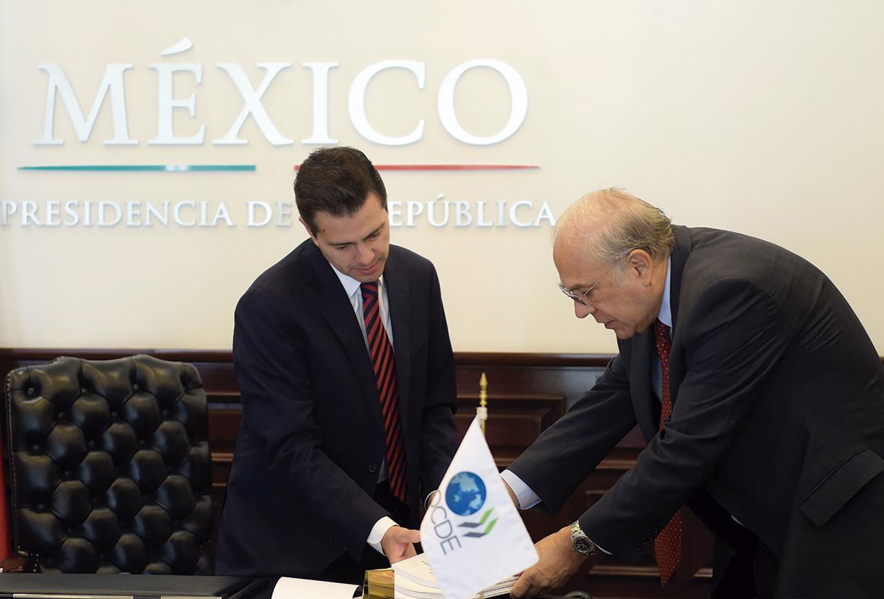 Photo of El Presidente Peña Nieto refrendó su reconocimiento a la OCDE como un aliado estratégico para el mejoramiento de políticas públicas en México