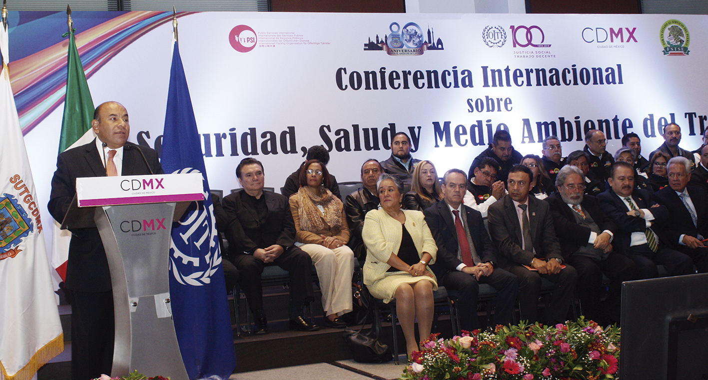 Photo of Líderes Internacionales de trabajadores se reunieron en México en favor de la justicia social