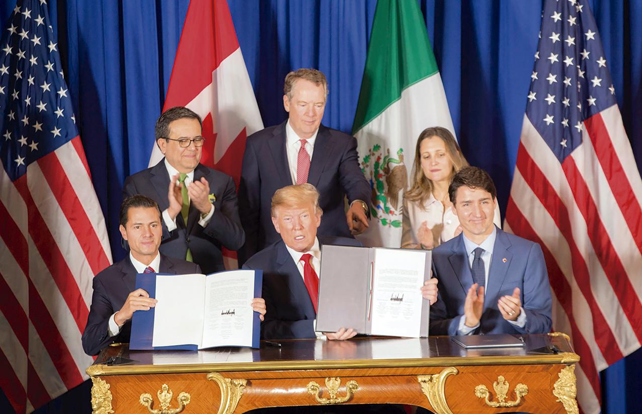Photo of La firma del T-MEC un gran triunfo para la economía de México, Estados Unidos y Canadá