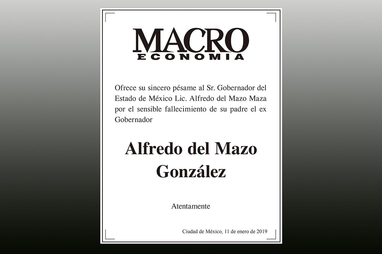 Photo of Revista Macroeconomía ofrece su más sentido pésame