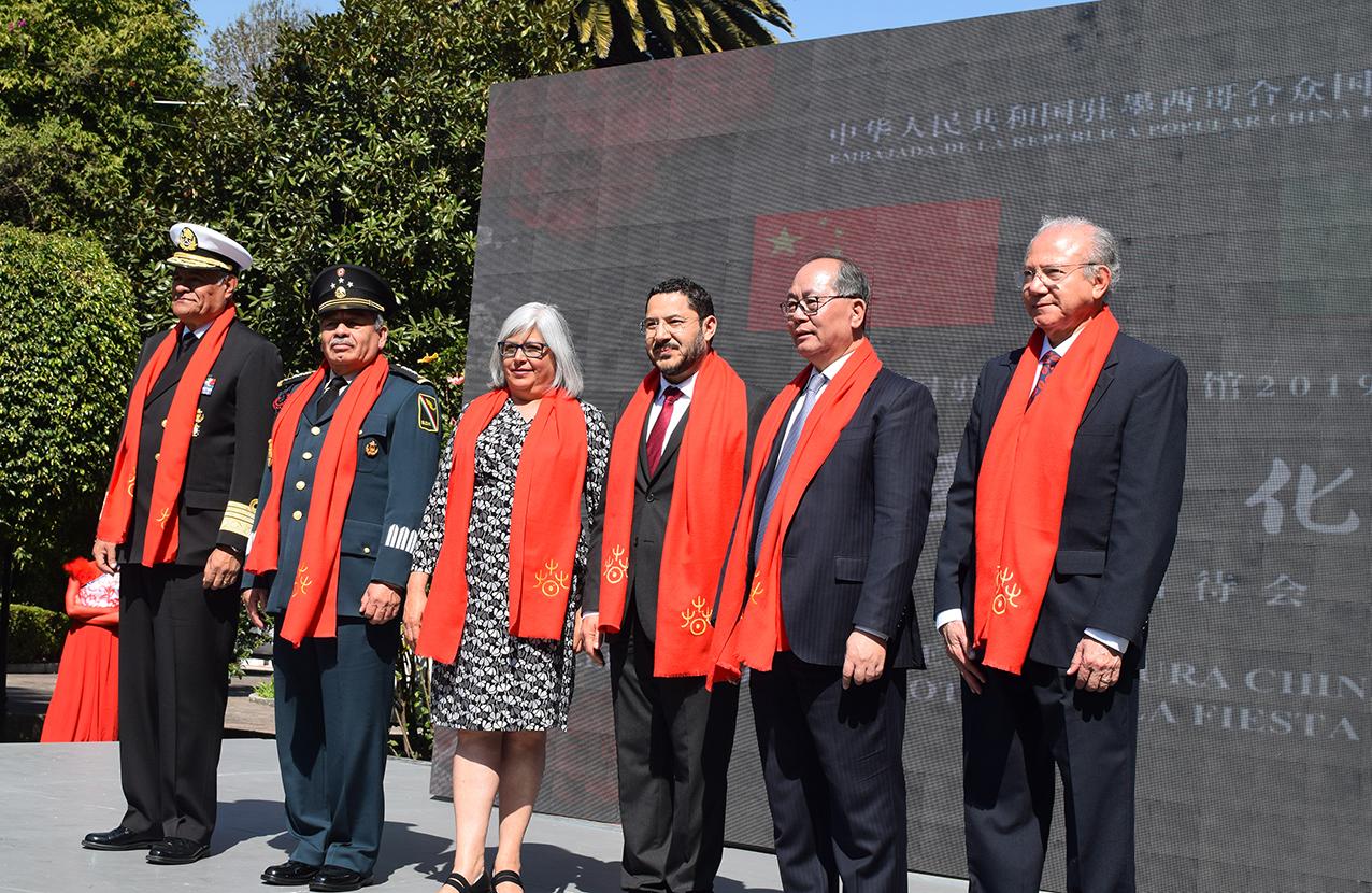 Photo of China celebra en México la entrada de la Primavera