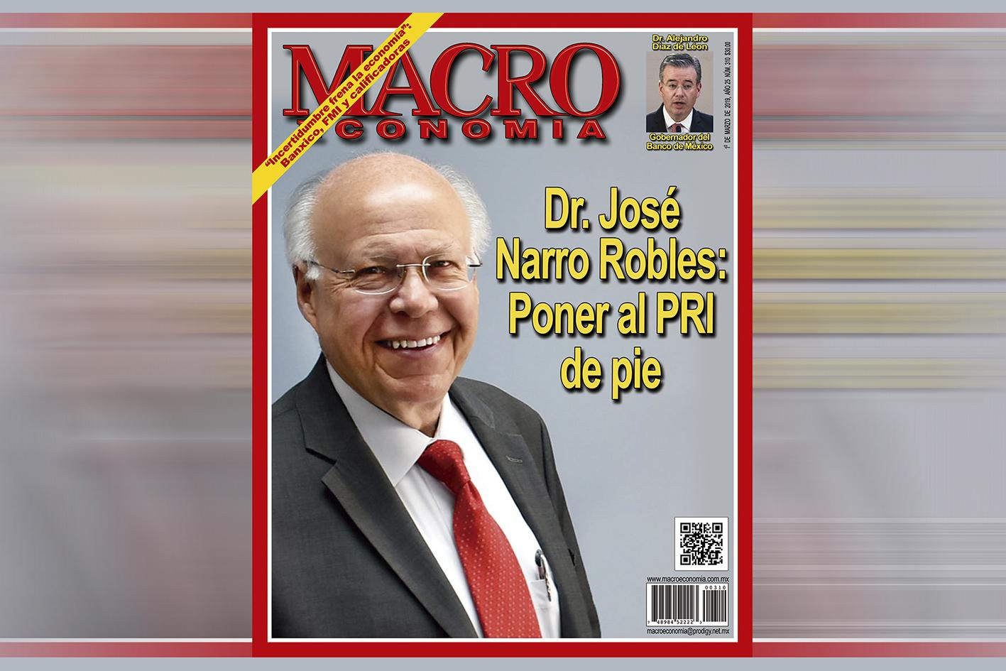 Photo of Doctor José Narro Robles, ex Rector de la UNAM, se postula para presidir al PRI