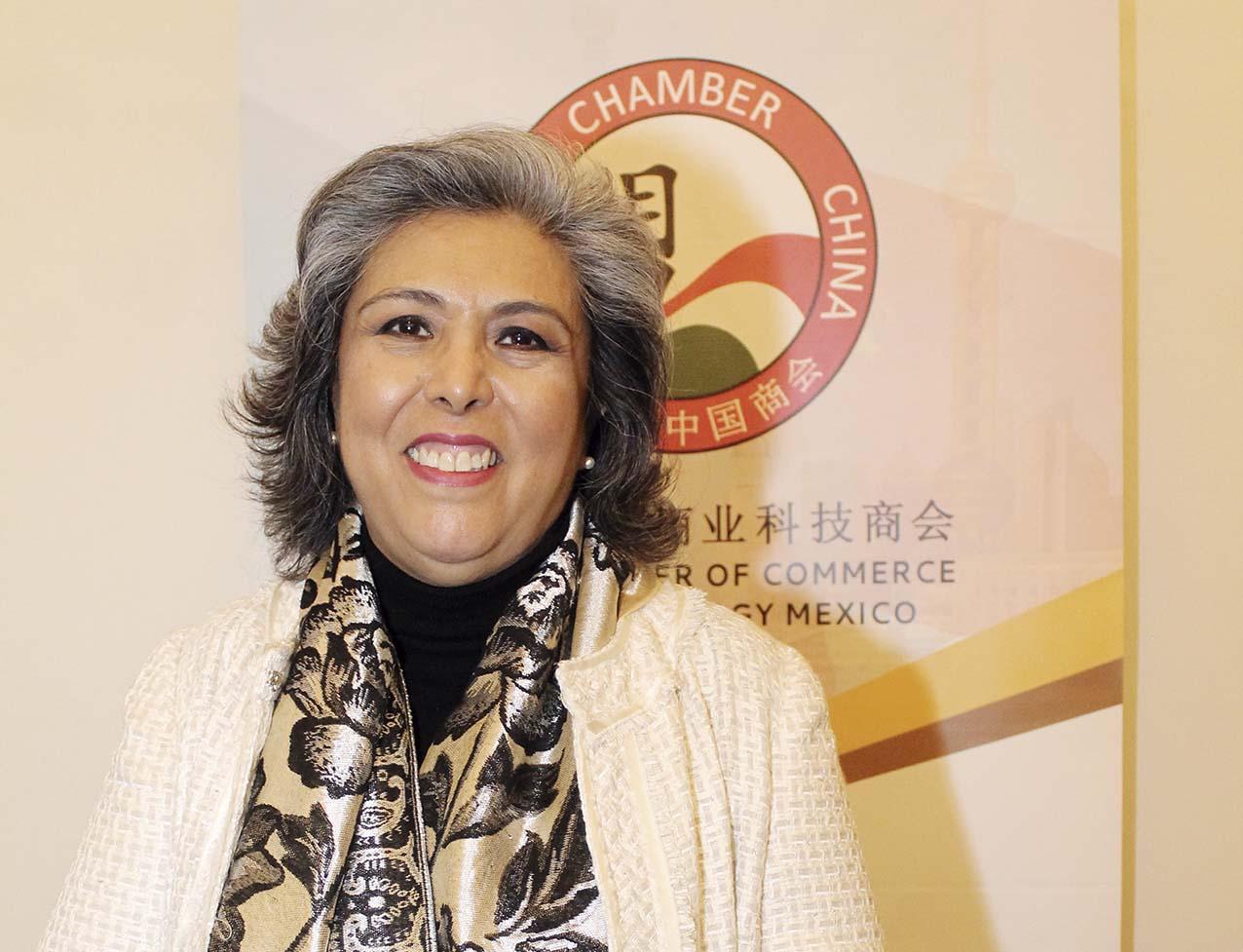 Photo of Amapola Grijalva Vega electa Presidente Ejecutiva de la Cámara de Comercio y Tecnología Méxíco–China