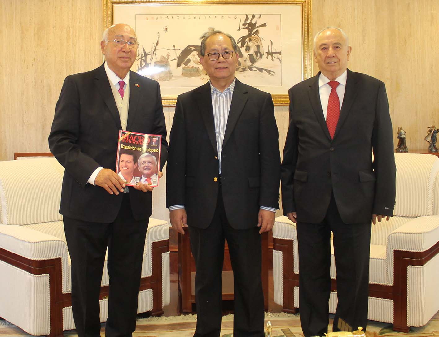 Photo of Admiración y respeto por México expresa el Embajador Qiu Xiaoqi al despedirse