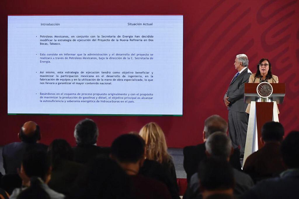 Photo of La Secretaria de energía tendrá a su cargo el Coordinar y promover el proyecto de la construcción de la refinería de Dos bocas