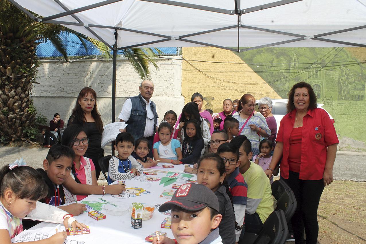 Photo of Rotarios llevan felicidad y salud a familias de Tlalpan