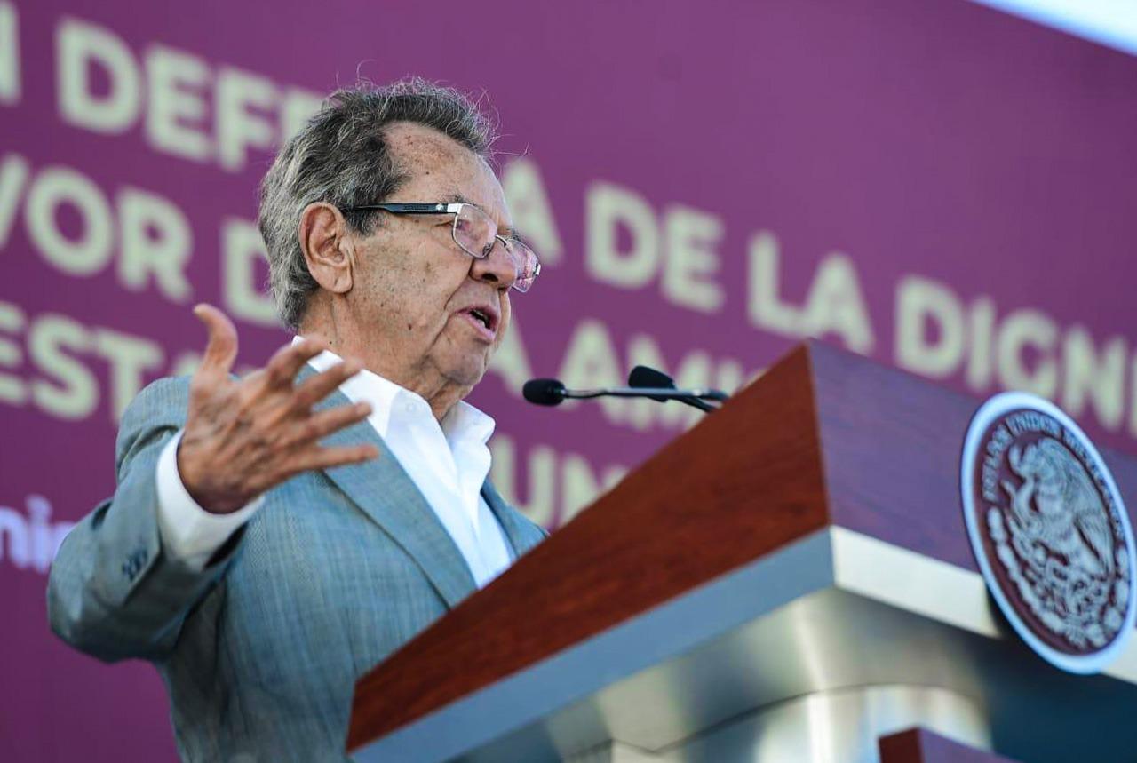 """Photo of """"México le hace un favor oscuro a los Estados Unidos"""", declara Muñoz Ledo"""
