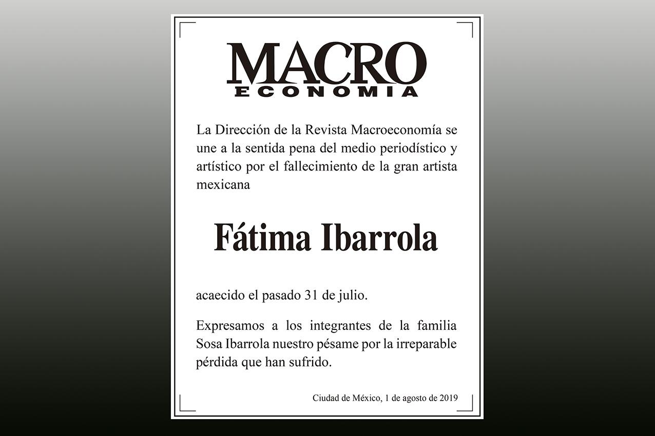 Photo of Se despidió Fátima Ibarrola