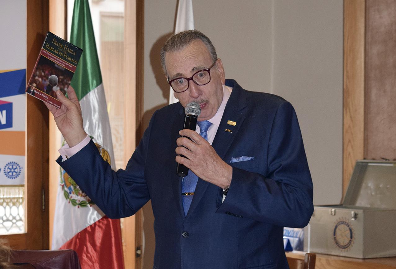 Photo of El Rotario Frank Devlyn hace un llamado a servir cada día a México con más pasión y entrega