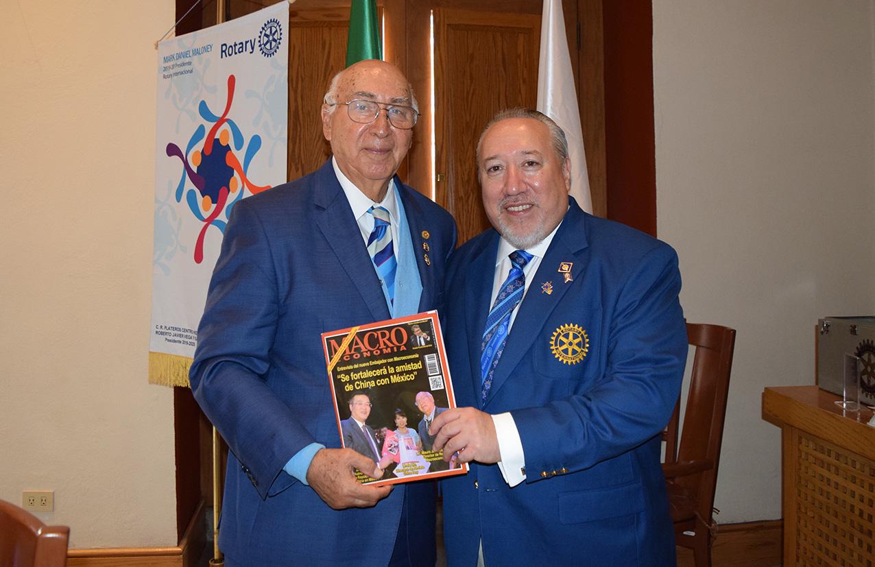 Photo of Francisco Ascanio, Gobernador Rotario Distrito 4170, lanza Plan para Conmemorar el Primer Centenario del Rotarismo en México