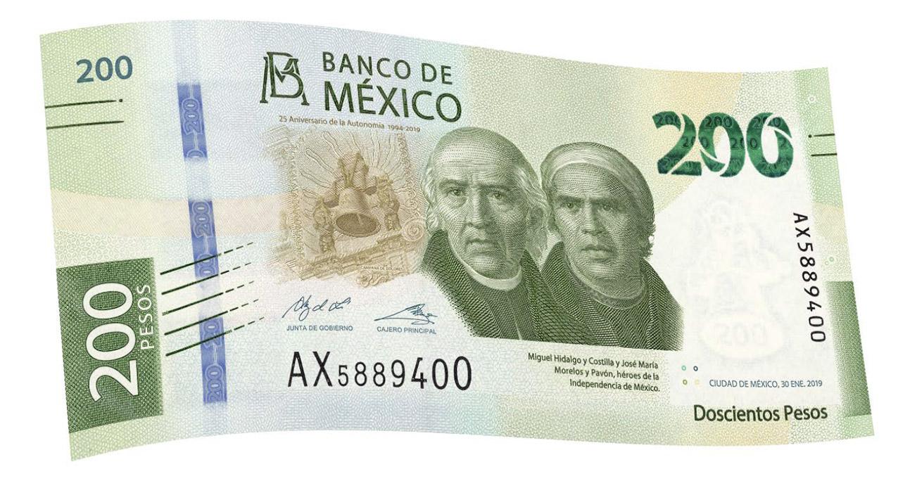 Photo of Puesta en circulación del billete de 200 pesos de la nueva familia de billetes