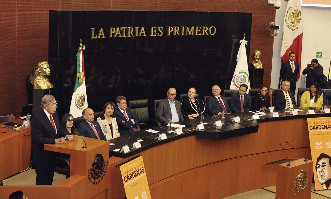 Photo of Rinden Homenaje a Cuauhtémoc Cárdenas en el Senado de la República; los partidos reconocen su liderazgo nacional