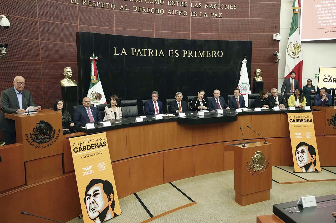 """Photo of Dante Delgado Rannauro reconoce el liderazgo democrático de Cuauhtémoc Cárdenas Solórzano y lo declara """"pilar del nacionalismo mexicano"""""""