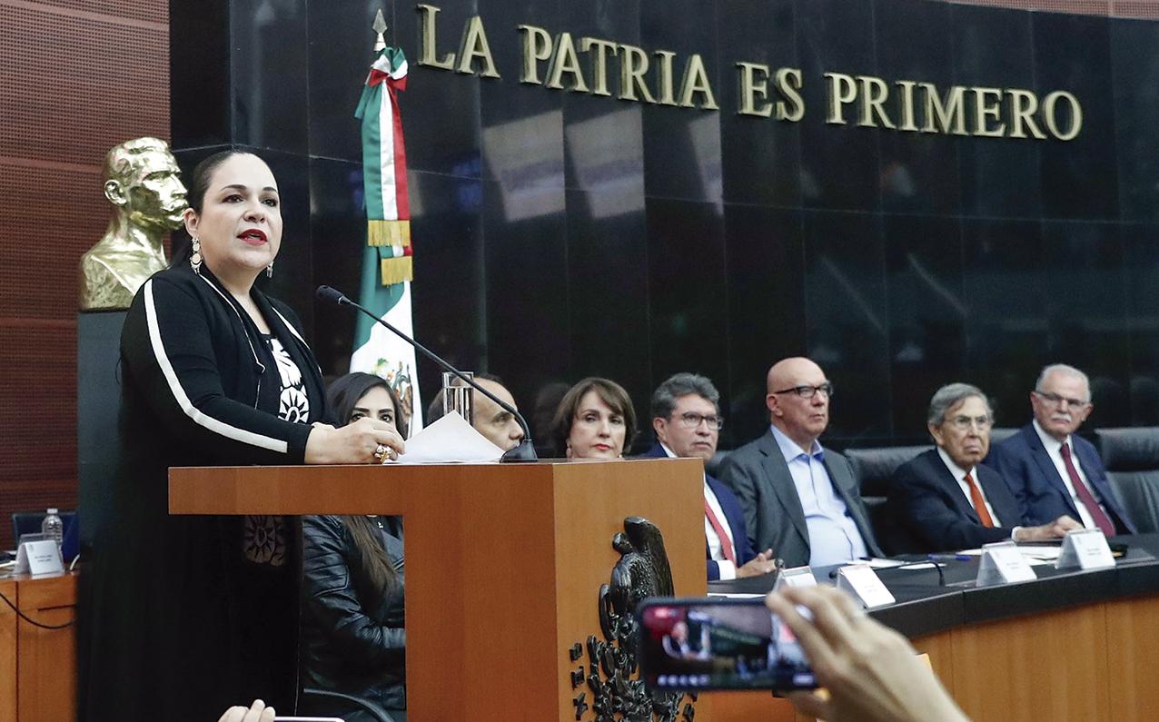 """Photo of """"Cuauhtémoc Cárdenas abrió los espacios de la democracia mexicana"""", dijo la Presidenta del Senado Mónica Fernández Balboa"""