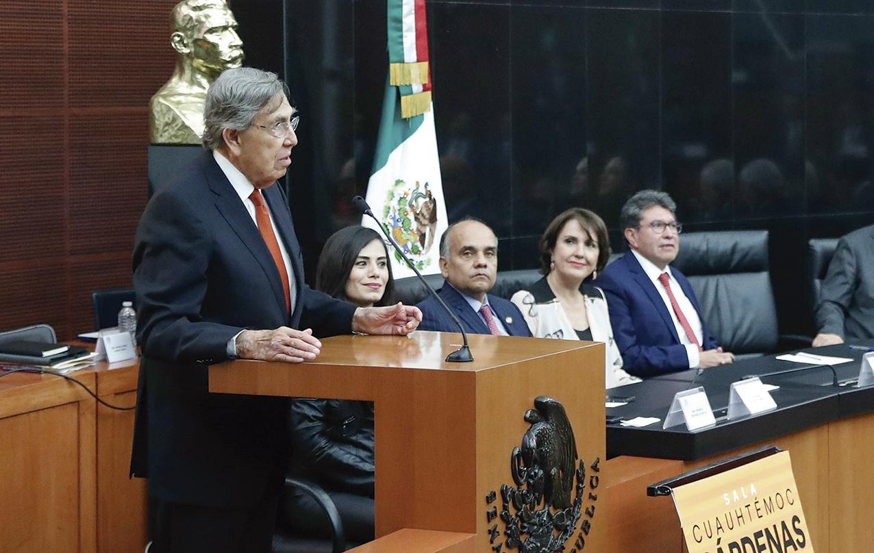 """Photo of """"No hay ningún partido ni ningún funcionario que pueda adjudicarse los cambios democráticos de México, de manera individual"""": Cuauhtémoc Cárdenas Solórzano"""