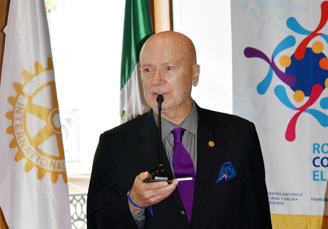 Photo of El filósofo Francisco Creo reflexiona sobre el Movimiento Rotario y Rotary International, en los difíciles tiempos de la actualidad