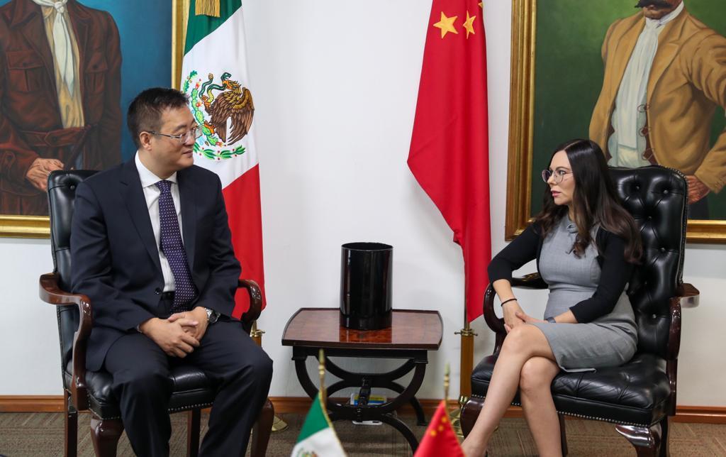 Photo of Se reúne Laura Angélica Rojas Hernández con embajadores de Irán, China y Alemania en México
