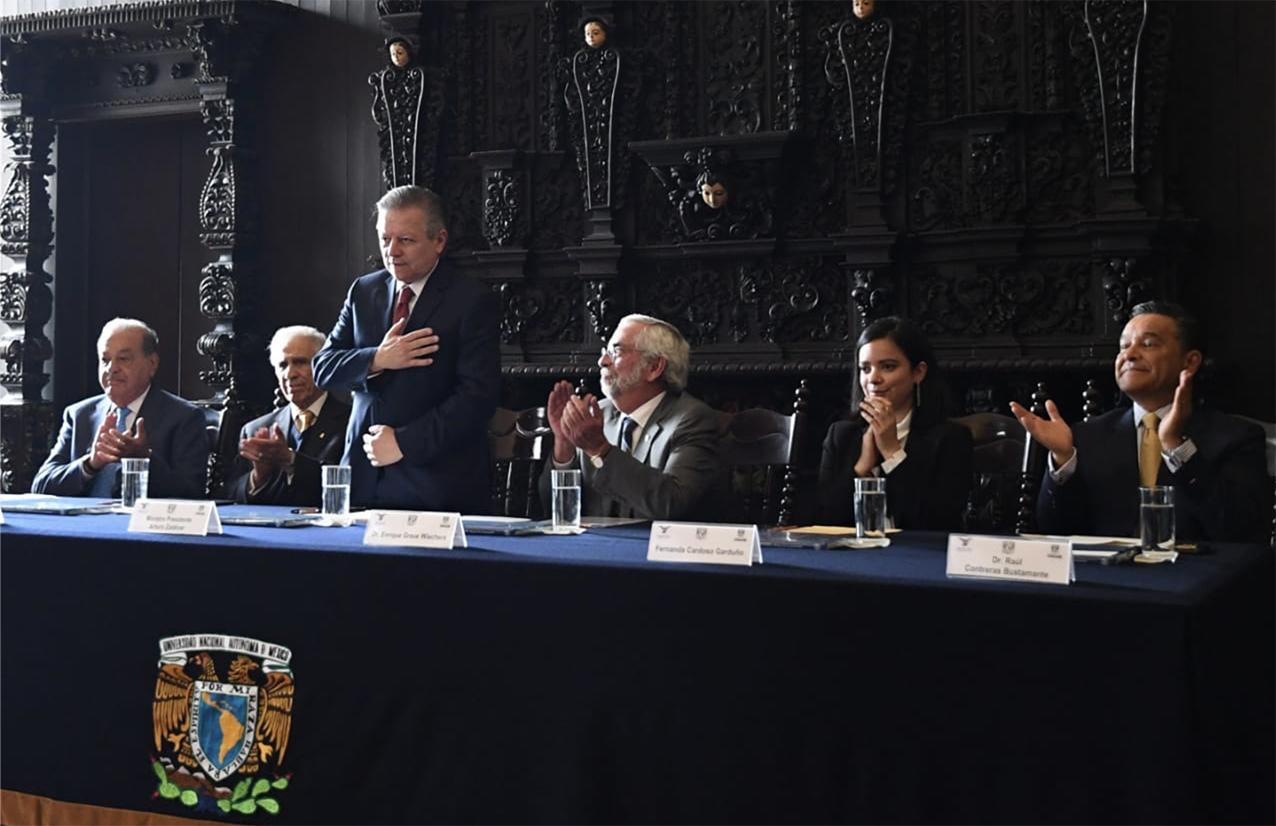 Photo of La UNAM, la SCJN y Fundación UNAM renuevan convenio para otorgar becas a estudiantes de excelencia