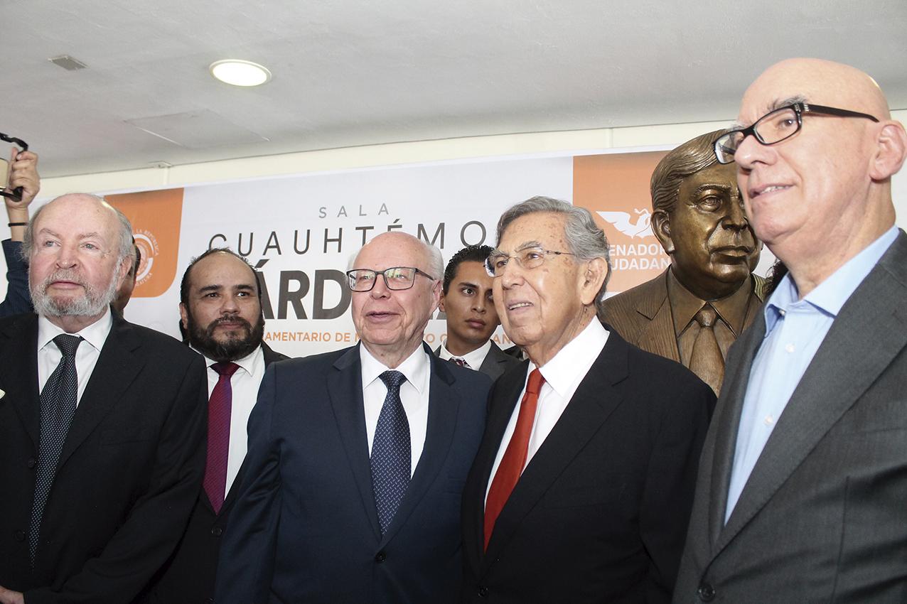 Photo of Homenaje en el Senado a Cuauhtémoc Cárdenas Solórzano