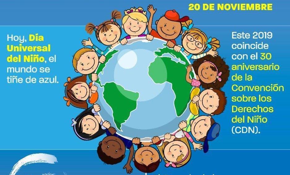 Photo of 20 de noviembre, día universal del niño