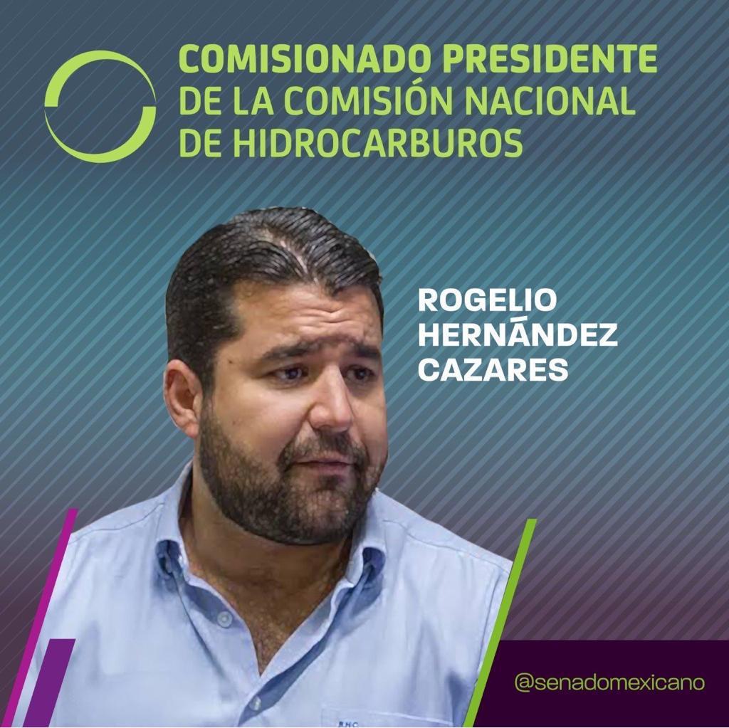 Photo of Comisionado Presidente de la Comisión Nacional de Hidrocarburos, Rogelio Hernández Cazares