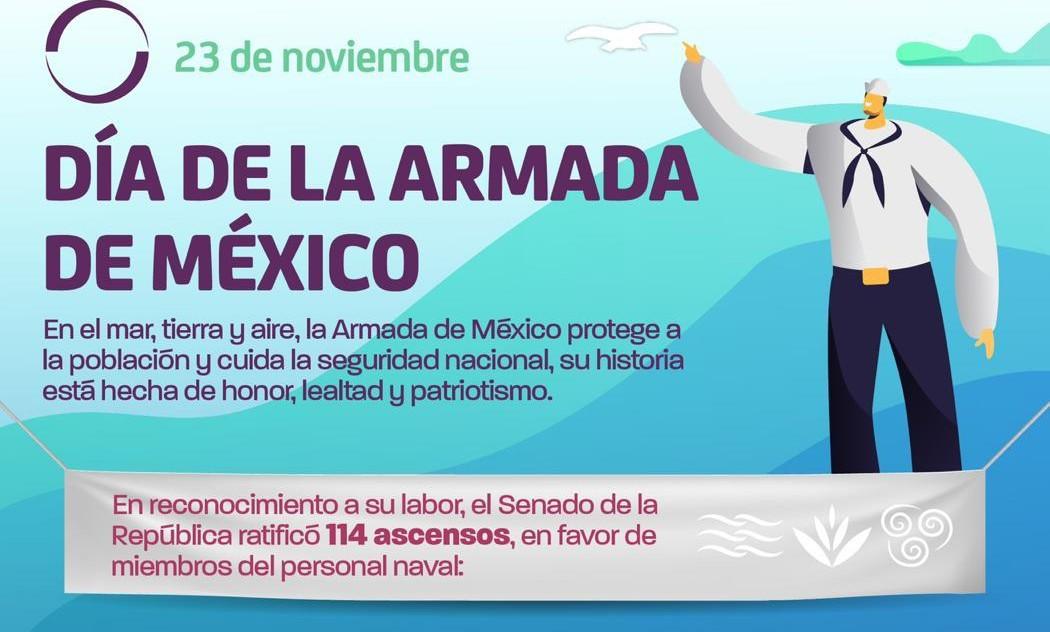 Photo of 23 de noviembre, día de la Armada de México