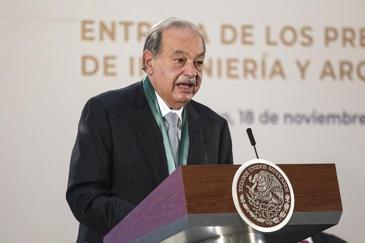 """Photo of """"Necesitamos ya una sacudida, una transformación, un cambio que nos permita empezar a tener crecimientos que son los que merece nuestro país"""": Carlos Slim Helú"""