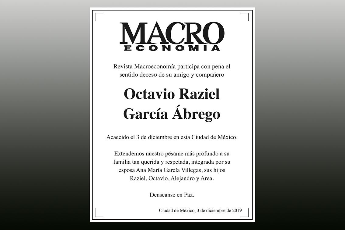 Photo of Revista Macroeconomía participa con pena el sentido deceso de su amigo y compañero Octavio Raziel García Ábrego