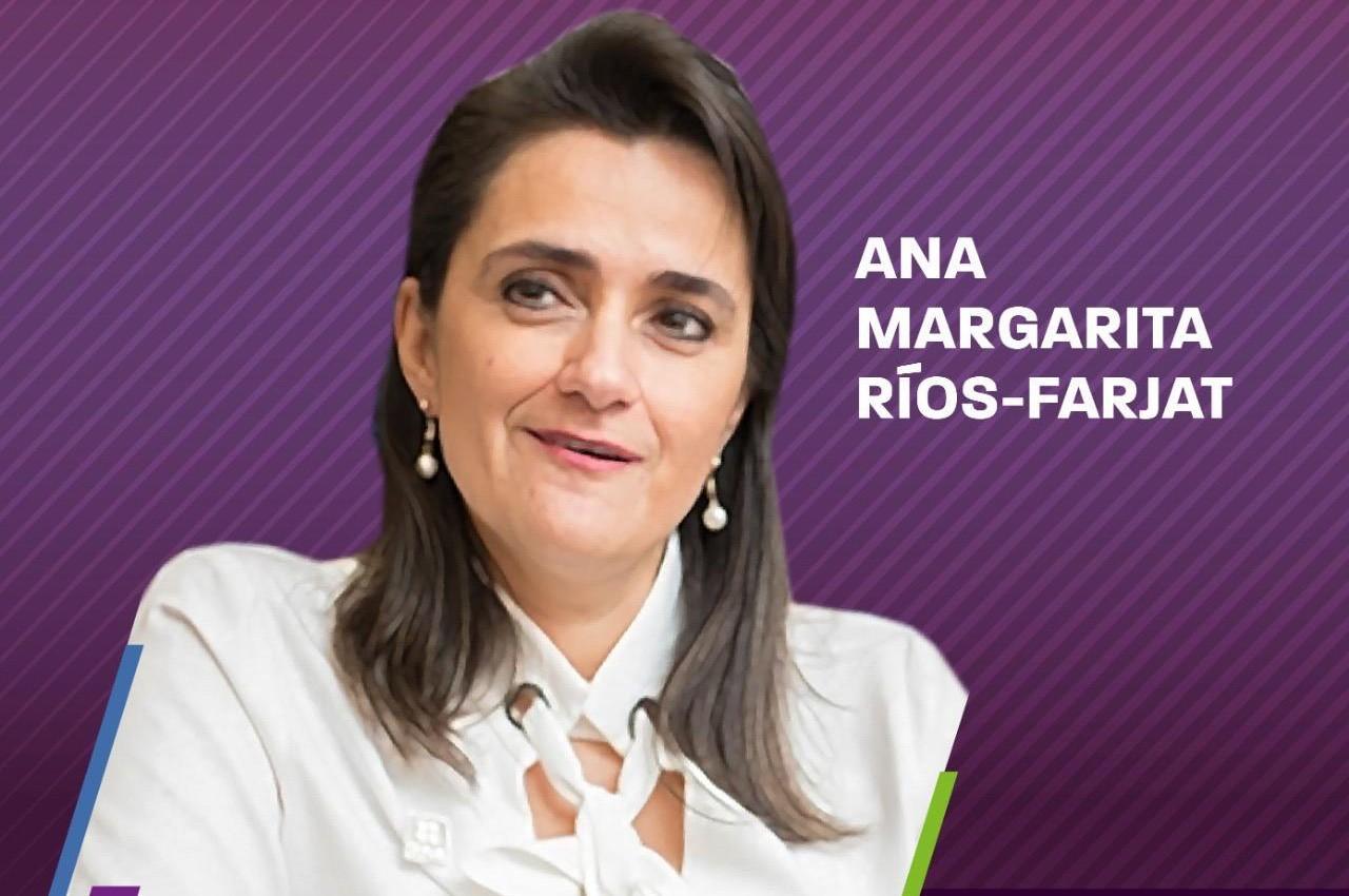 Photo of Ana Margarita Ríos-Farjat, Ministra de la SCJN