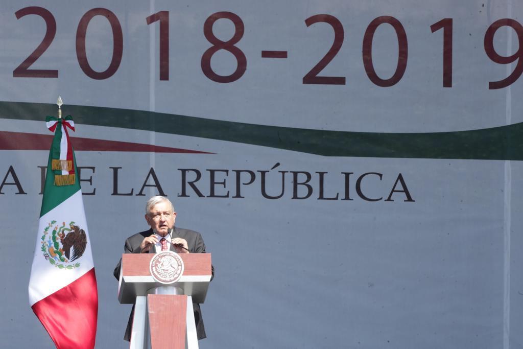 Photo of Mensaje con motivo del Primer Año de Gobierno 2018-2019;  del Presidente Andrés Manuel López Obrador el 01 de diciembre de 2019