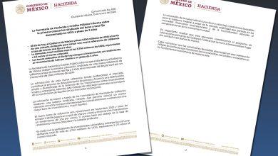 Photo of La Secretaría de Hacienda y Crédito Público informa sobre la primera colocación sindicada del bono a tasa fija denominado en UDIS a plazo de 3 años