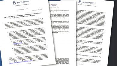 Photo of Publicación de la TIIE de Fondeo a un día hábil bancario y robustecimiento de las TIIE a plazos mayores a un día hábil bancario