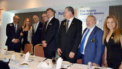 Photo of El Embajador de Estados Unidos, Christopher Landau, reconoce la tarea solidaria con el pueblo mexicano de los Clubes Rotarios de nuestro país