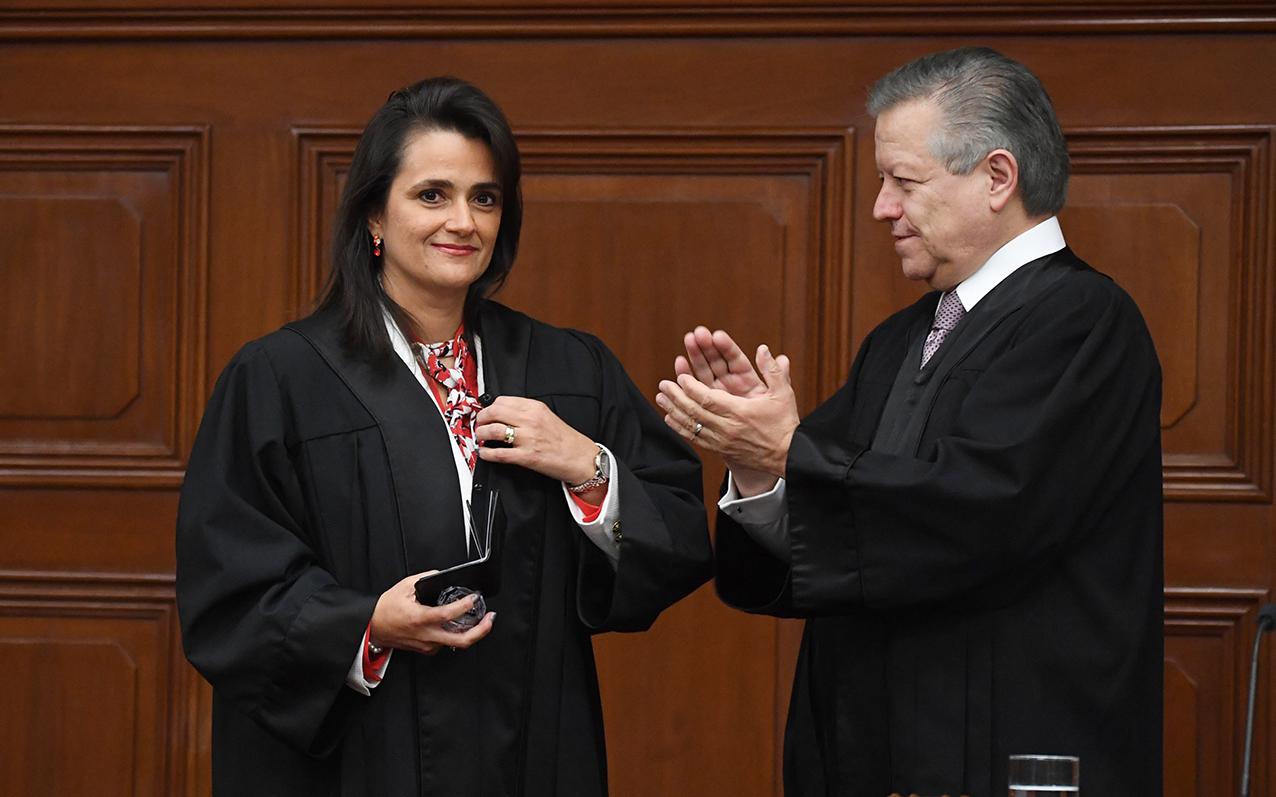 Photo of Suprema Corte da la Bienvenida a la Ministra Ana Margarita Ríos-Farjat