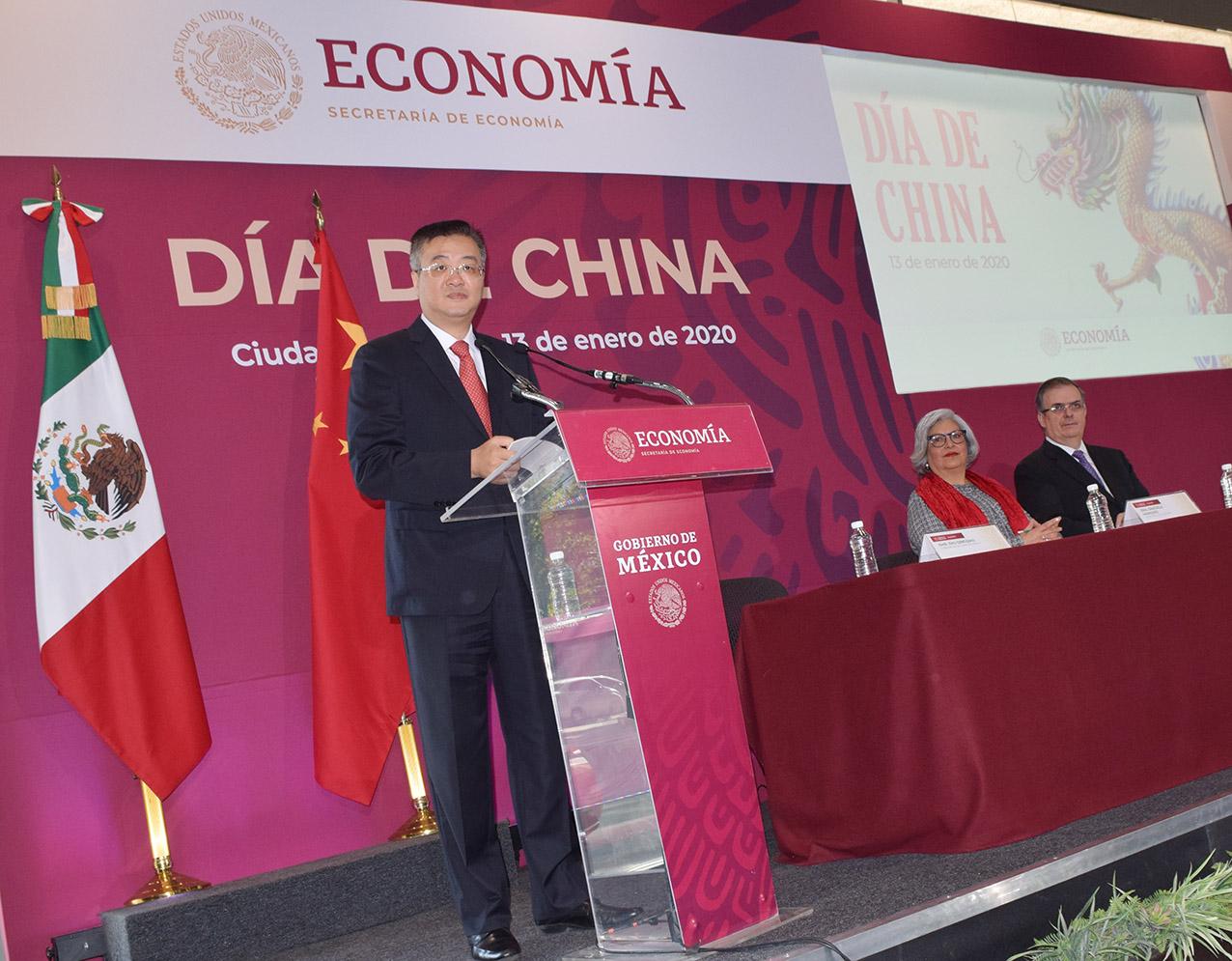 Photo of China, el segundo socio comercial de México ofrece nuevas inversiones: Embajador Zhu Qingqiao