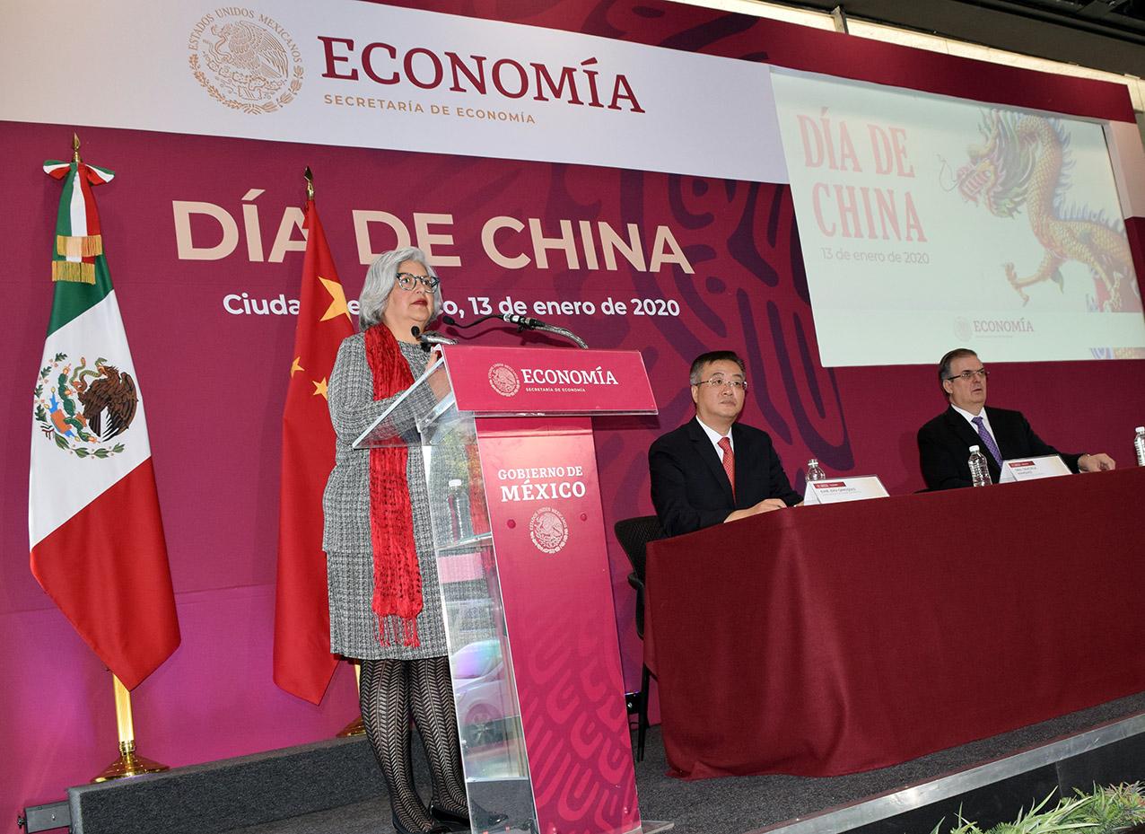Photo of La Secretaria de Economía, Graciela Márquez inaugura el Día de China en México: más inversiones y más comercio en ese País